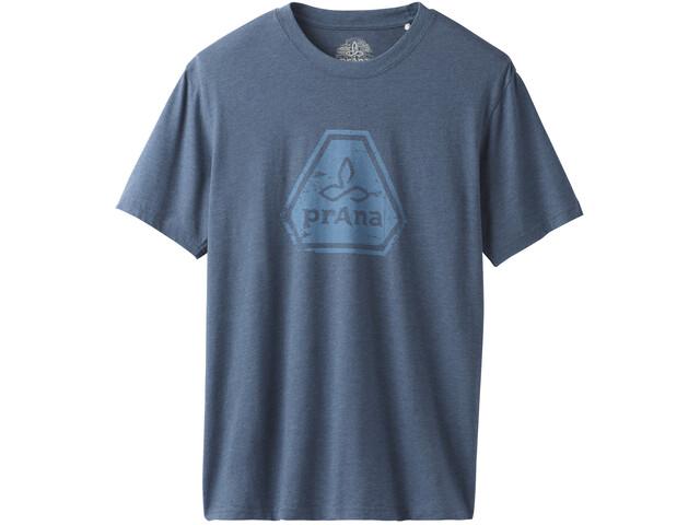 Prana Icon Shortsleeve T-Shirt Herr denim heather